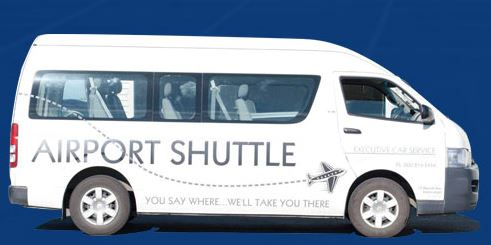 how does free airport shuttle work